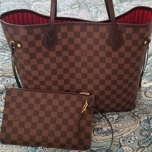 Authentic LouisVuitton Neverful PM